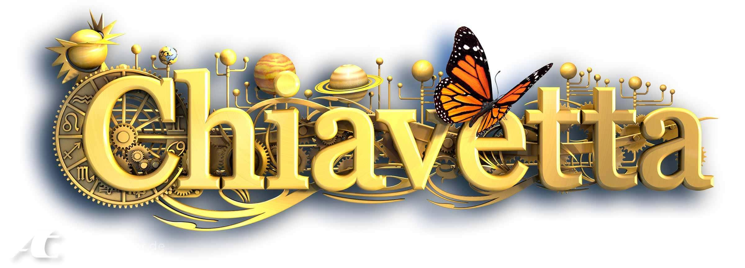 Chiavetta 3D-Logo