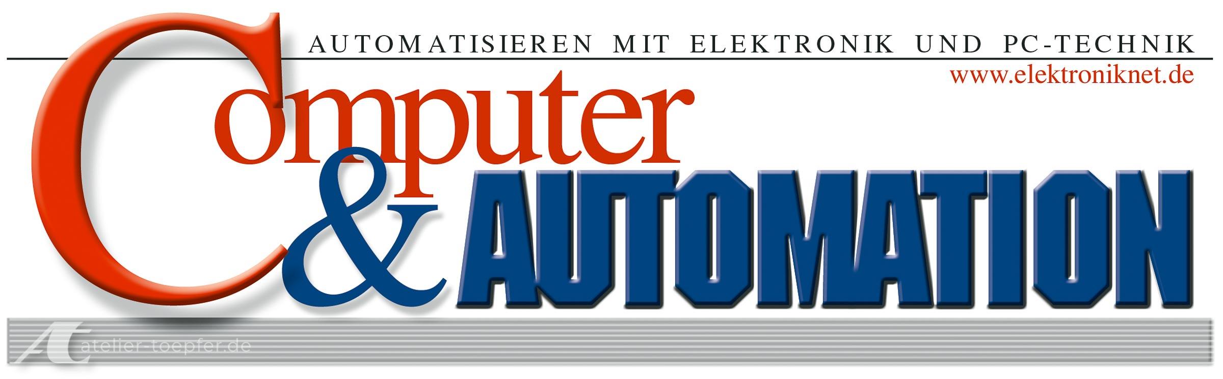 Zeitschrift Computer und Automation Titel Kopf