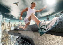 composing-3D-fotorealistisch-jogging-schuhe-science-fiction-1