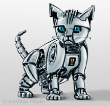 Konzept-Scribble-Roboter-Katze-1