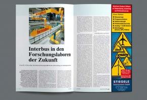 Zeitungs-Anzeige-Stiegele