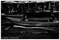 Venedig Highcontrast-Foto eiliger Kahn