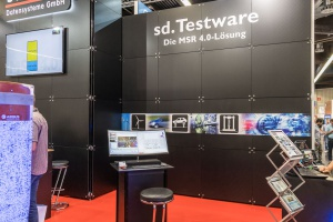 Messestand Stiegele Datensysteme