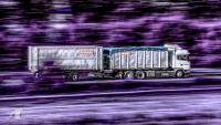 Fotodesign Lastzug Remondis Langzeitbelichtung