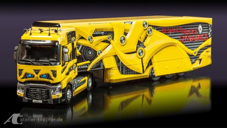 LKW-Design für ein LKW Modell