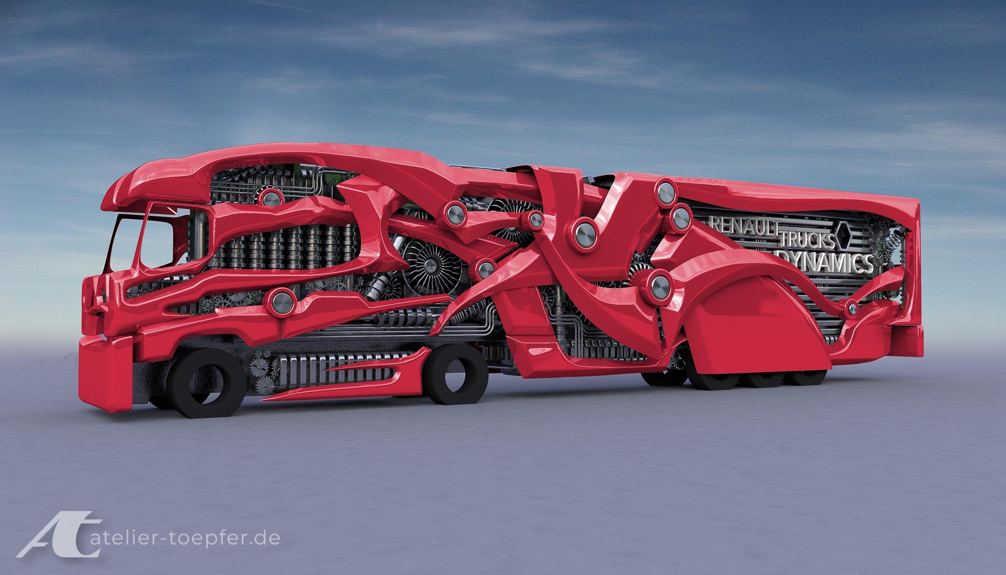 Truck-Design 3D Modell