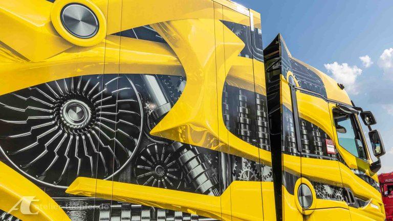 Truck-Design für eine Roadshow