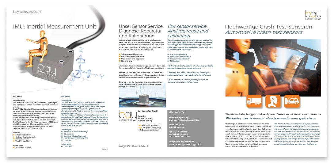 Bebilderung 6-Seiter Crash-Sensoren Layout