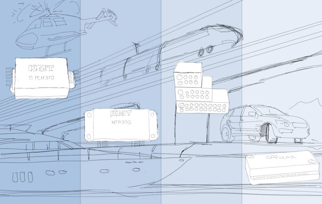 Scribble-Telemetrie-Aplikationen