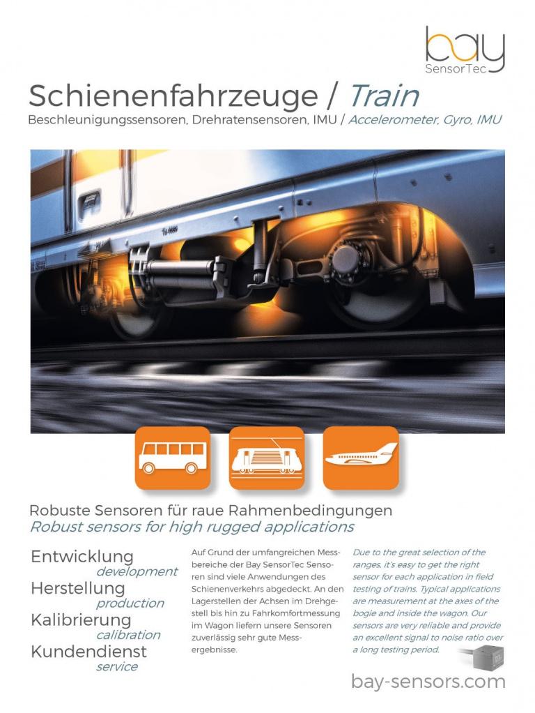 Bay-Poster-Schienenfahrzeuge
