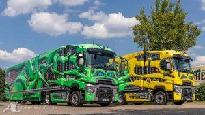 Truck-Design grün