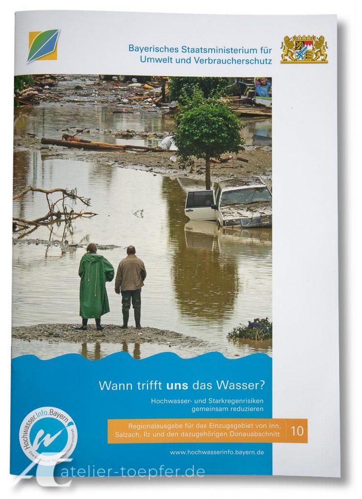 Informationsbroschüre: Wann trifft uns das Wasser?