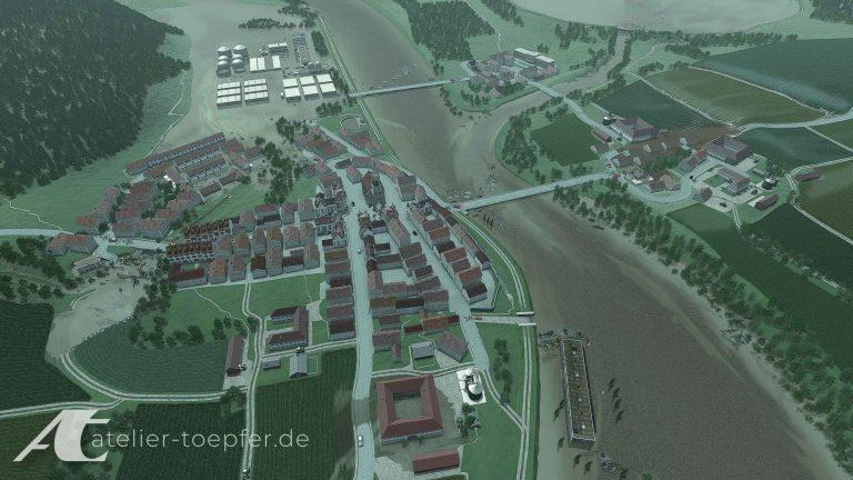 Hochwasser LfU Visualisierung